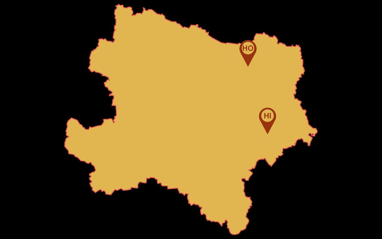 NÖ Karte